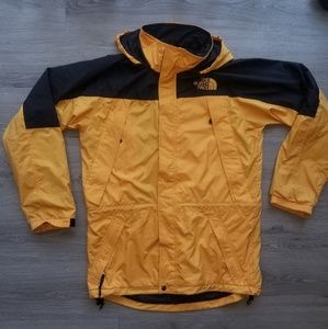 Medium  The North Face Yellow Windbreaker